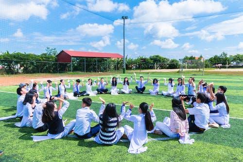 Gratis stockfoto met Aziatische mensen, bij elkaar voegen, daglicht, educatie