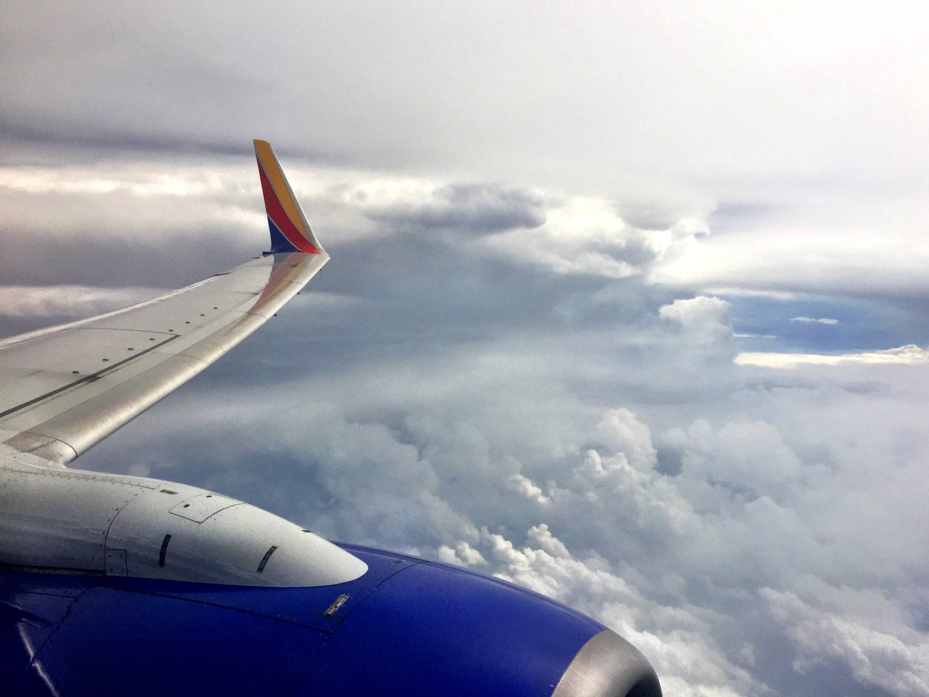 Free stock photo of sky, airplane