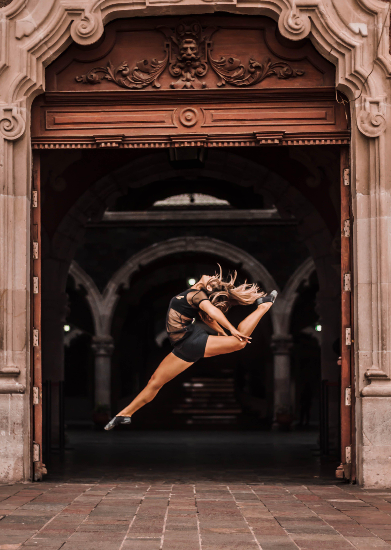 Photo of Woman doing a ballet dance