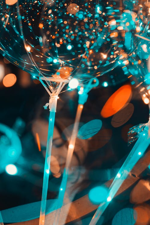 Close-up Photography of Multicolored Lights Bokeh