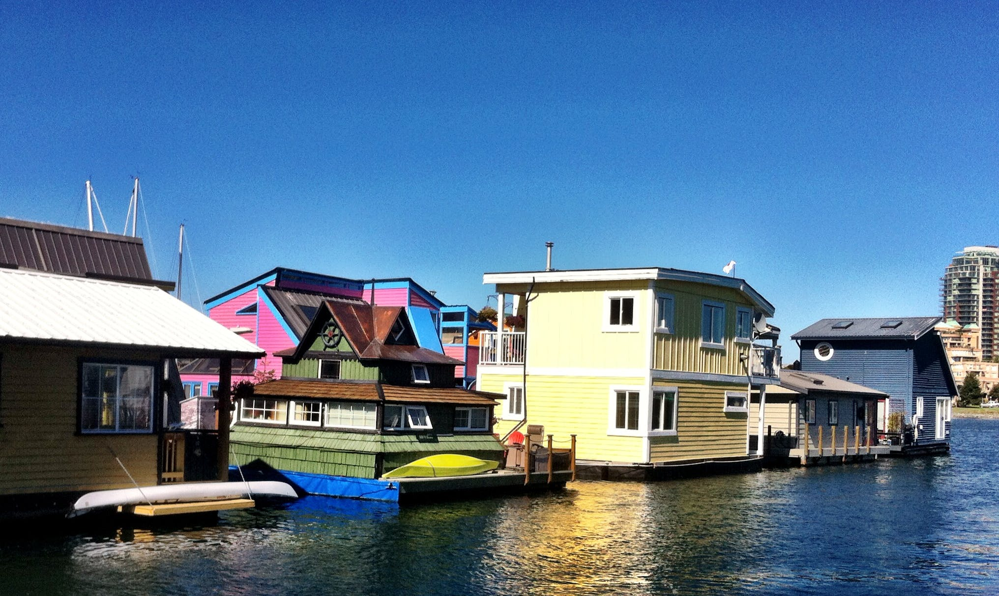 Free stock photo of boats, house, dock, Fisherman's warf