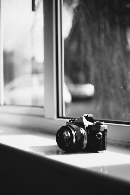 afstandsmeter, analoog, camera