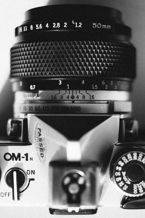 Gratis lagerfoto af afstandsmåler, årgang, close-up, fokus