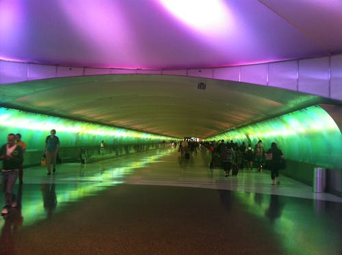 Photos gratuites de aéroport, coloré, detroit, vert