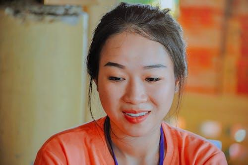 アジアの女性, アジア人, アジア人の女の子, スマイルの無料の写真素材