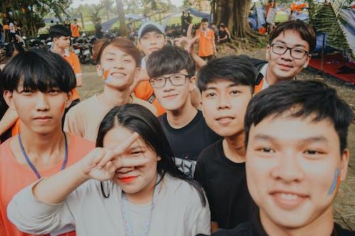Gratis stockfoto met Aziatische mensen, bij elkaar voegen, festival, genot