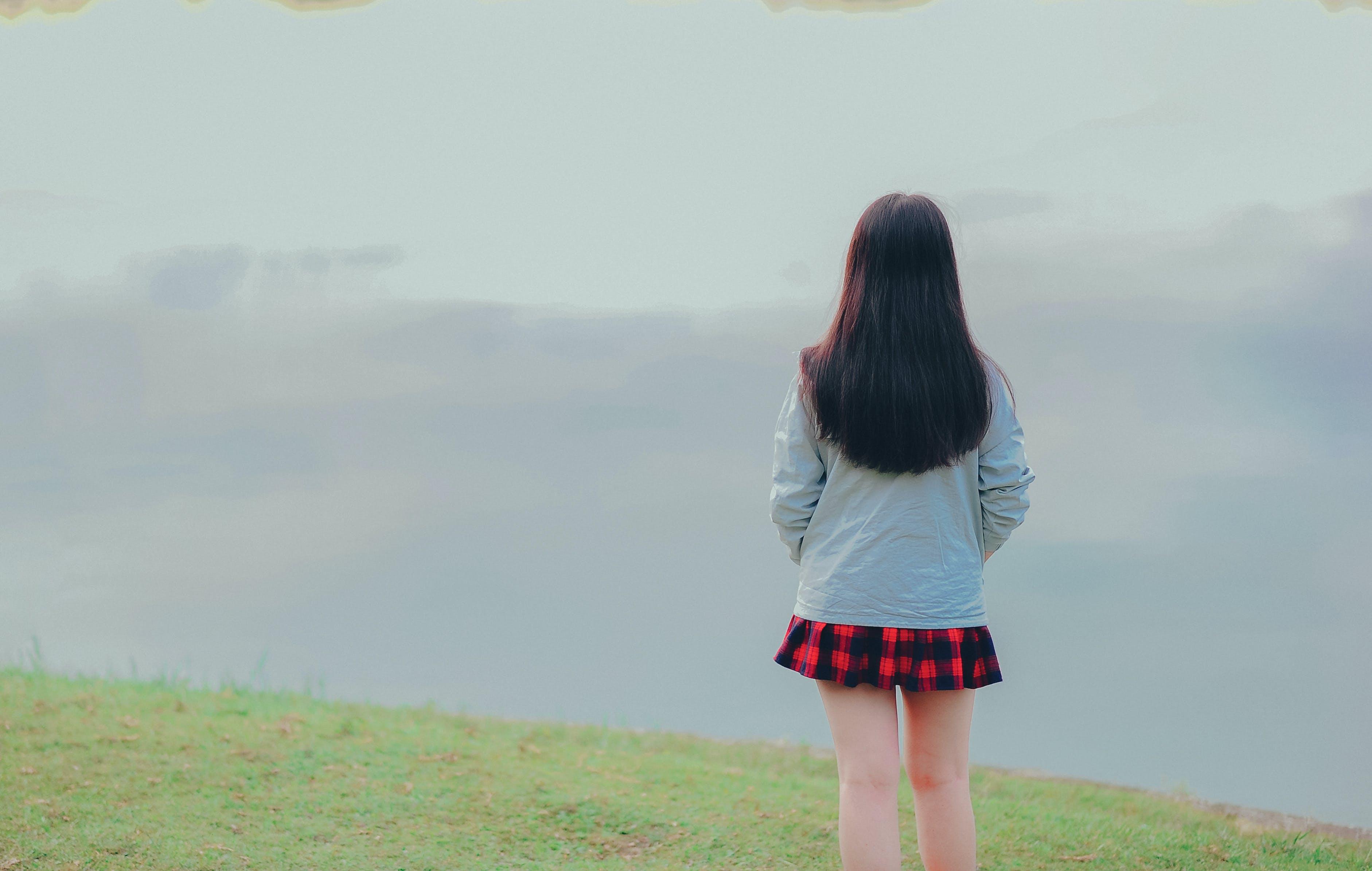 Gratis stockfoto met achteraanzicht, eigen tijd, gras, landschap