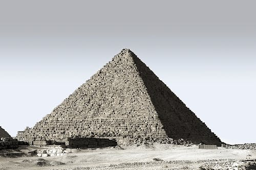 エジプト, ピラミッド, 古代, 建築の無料の写真素材