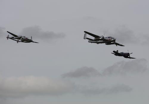 Fotos de stock gratuitas de avión de combate, b25, bombardeo, espectáculo aéreo