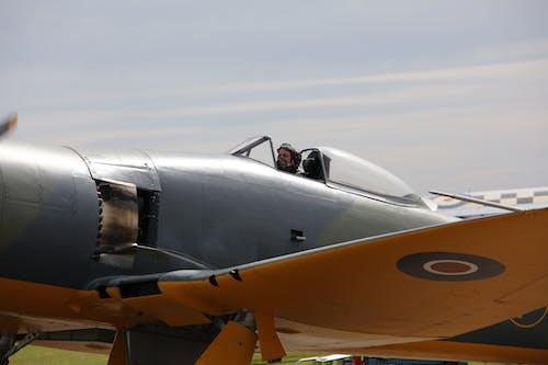 Fotos de stock gratuitas de avión de combate, espectáculo aéreo, furia marina, pilotar