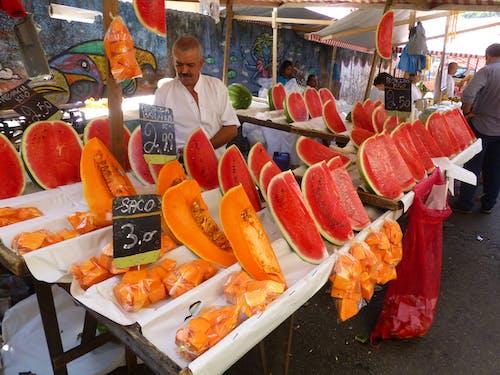 Photos gratuites de brésil, marché aux fruits, rio de janeiro