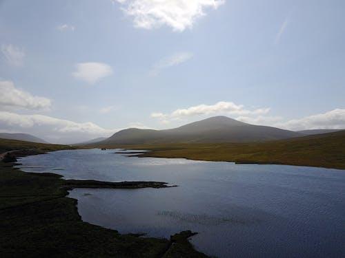 Fotos de stock gratuitas de agua, Escocia, foto con dron
