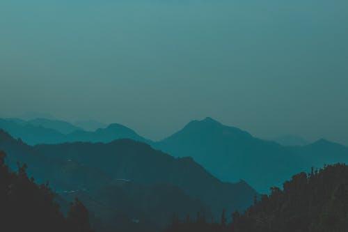 Základová fotografie zdarma na téma modré hory, příroda