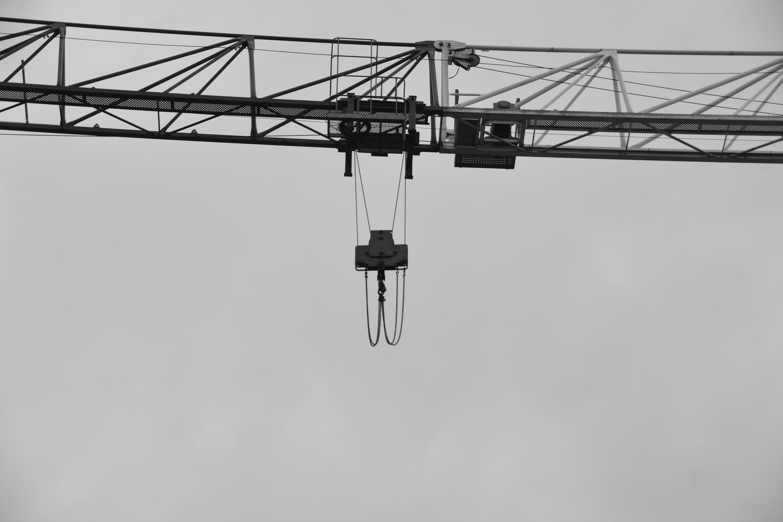 Free stock photo of acier, contruction, Gros oeuvre, grue