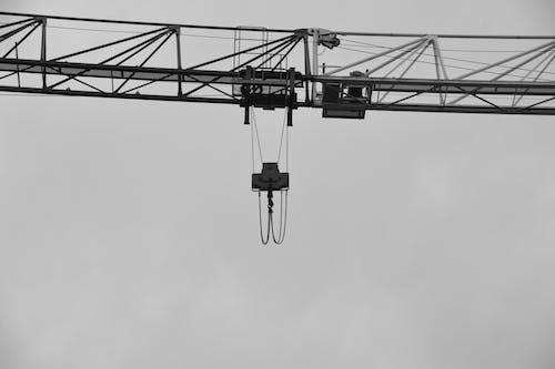 คลังภาพถ่ายฟรี ของ acier, gros oeuvre, grue, levage