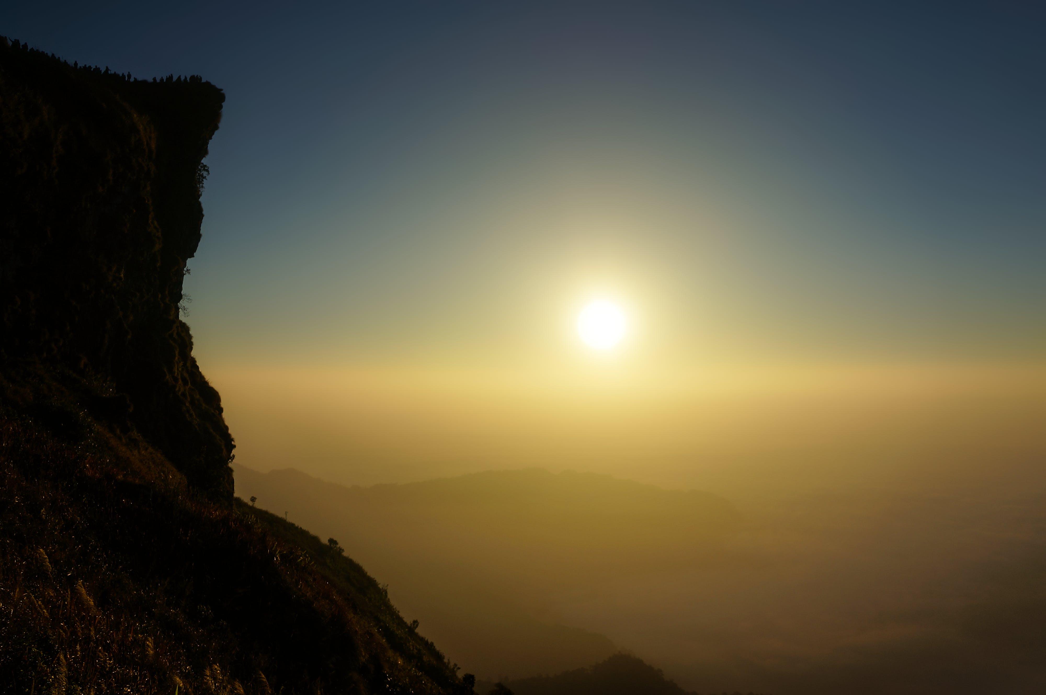 Kostenloses Stock Foto zu berg, felswand, himmel, natur