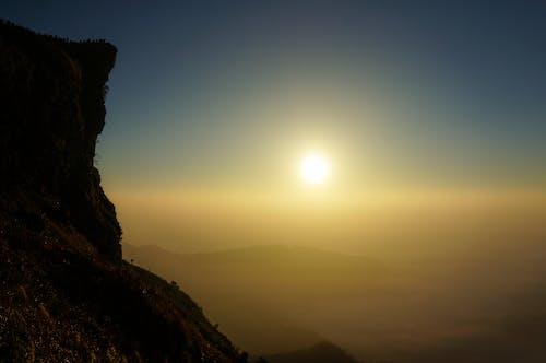 Ảnh lưu trữ miễn phí về bầu trời, Hoàng hôn, mặt trời, núi