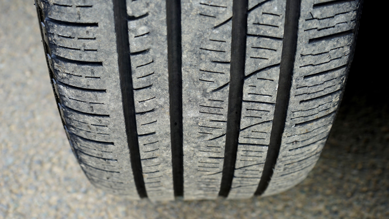 Car Tire Closeup Photo