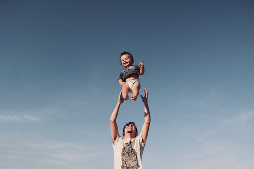 Kostnadsfri bild av barn, bebis, blå himmel, familj
