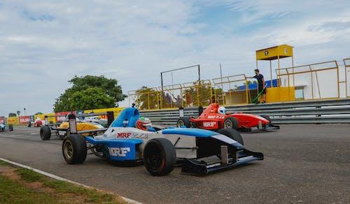 คลังภาพถ่ายฟรี ของ นักแข่ง, ยางรถ, รถแข่ง, สนามแข่ง