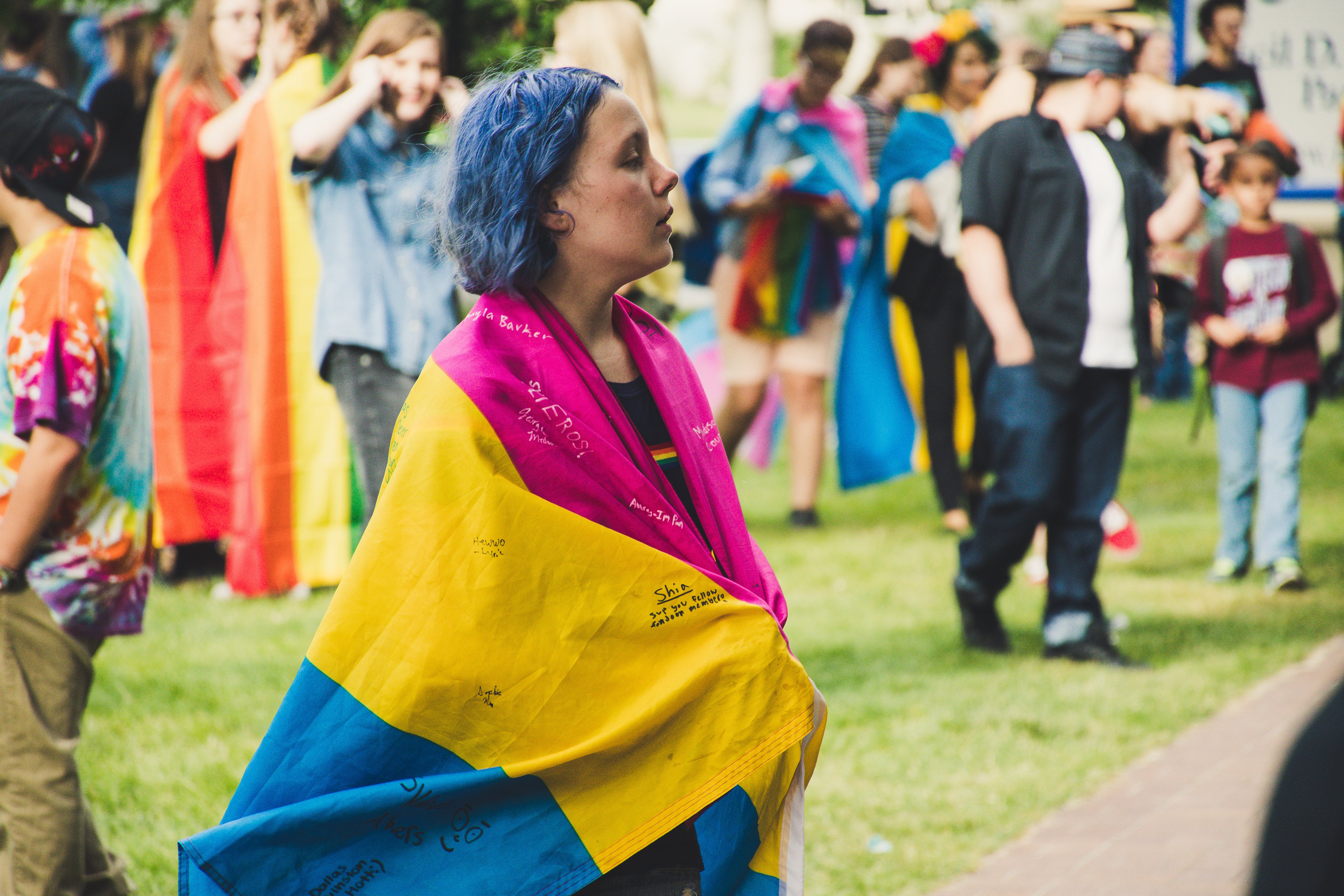 Kostenloses Stock Foto zu feier, festival, gras, menge