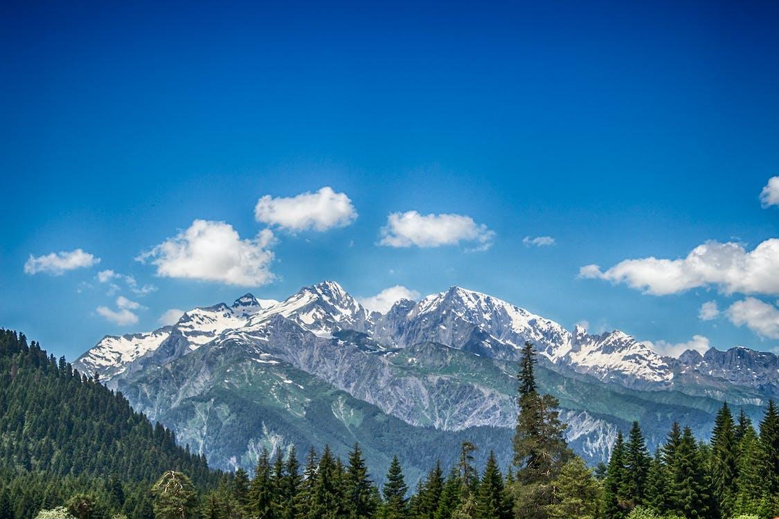 天性, 天空, 山