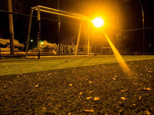 Free stock photo of night, park, public place