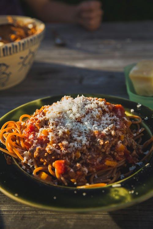 Základová fotografie zdarma na téma jídlo, talíř, těstoviny, večeře