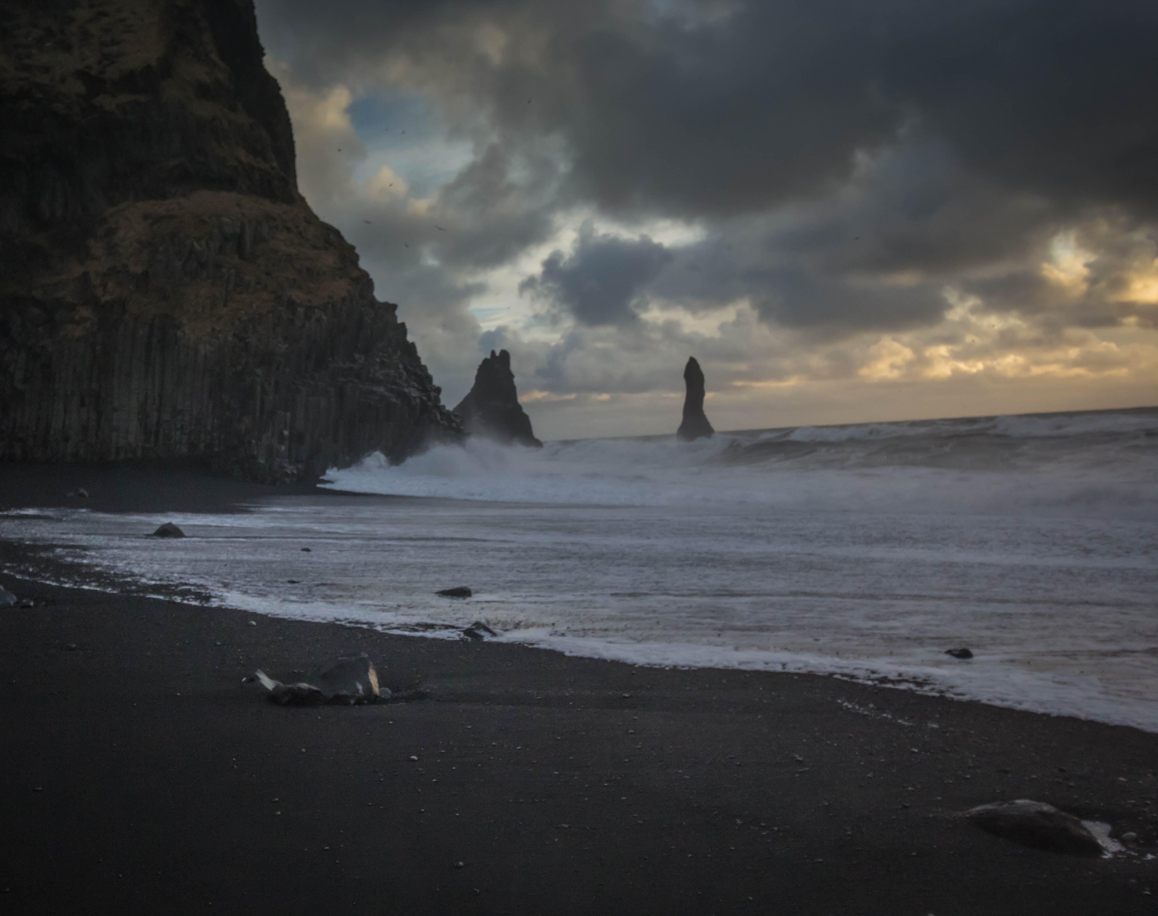 Free stock photo of beach, blacksand, iceland, ocean