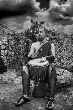 Free stock photo of djembe, drums