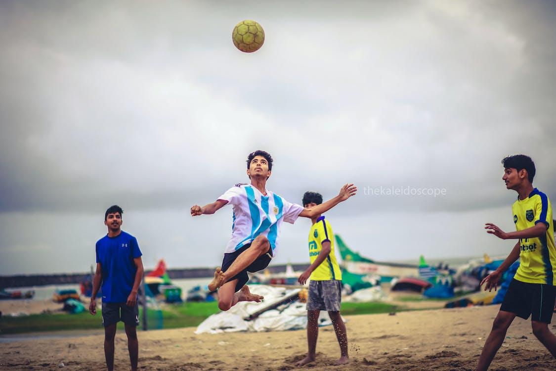 Foto d'estoc gratuïta de copa del món, futbolista, Joc de futbol