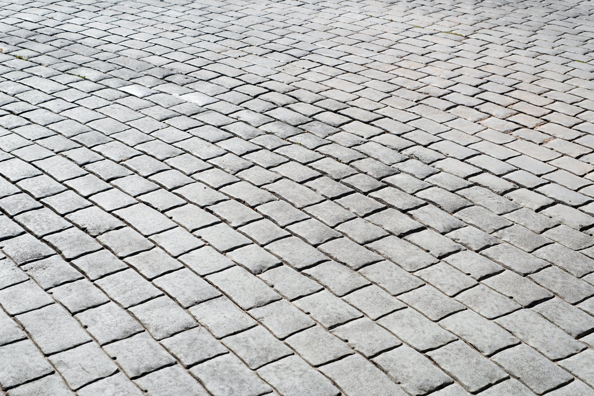 Free stock photo of brick, cobblestone, grey, road