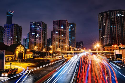 a modern highway