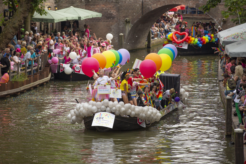 Foto stok gratis canal pride