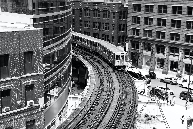 Foto stok gratis Arsitektur, bangunan, cityscape, grayscale