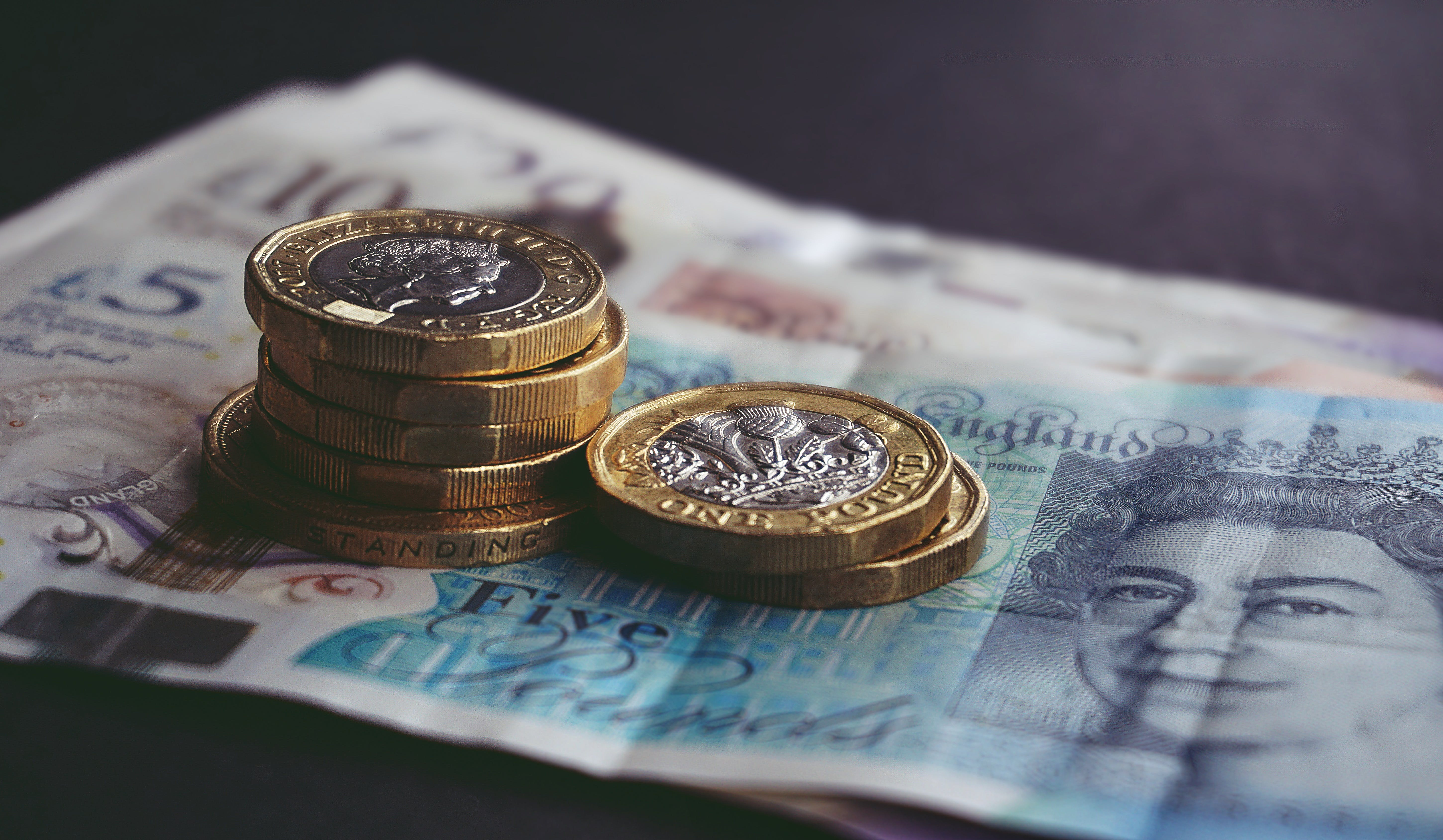 Free stock photo of money, coins, cash, currency