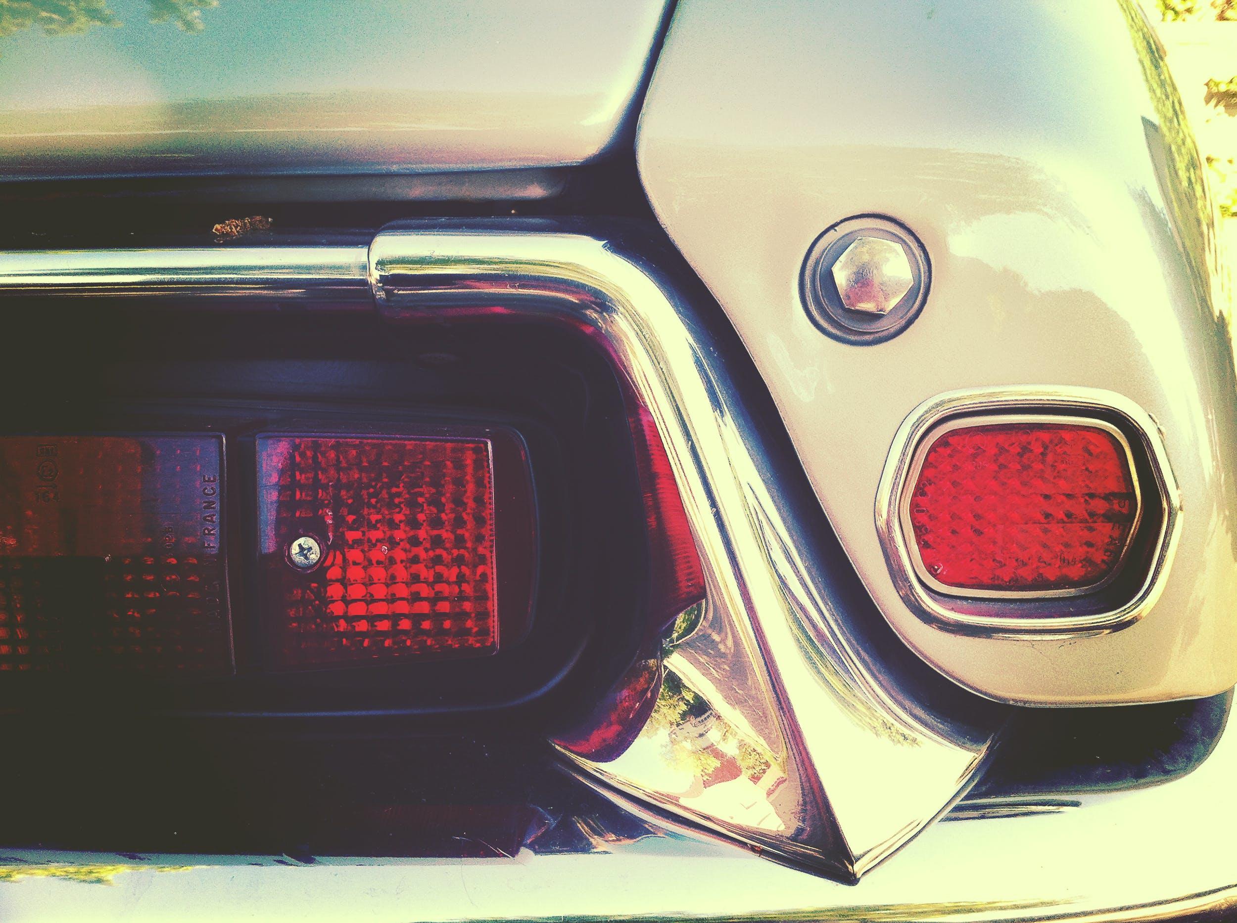 Gratis lagerfoto af baglygter, bil, close-up, transportmiddel