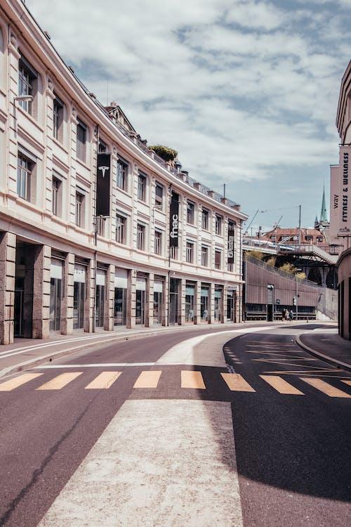 人行道, 古老的, 城市