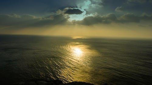 Foto profissional grátis de atardecer, cielo, nubes