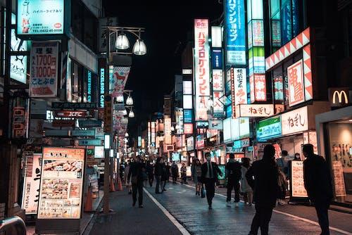 Fotos de stock gratuitas de gente, Japón, letreros, muchedumbre