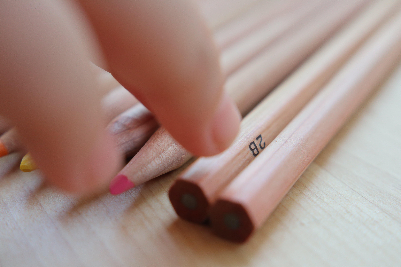 Free stock photo of 2B, color, color pencil, pencil