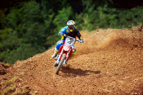 Photos gratuites de course de moto