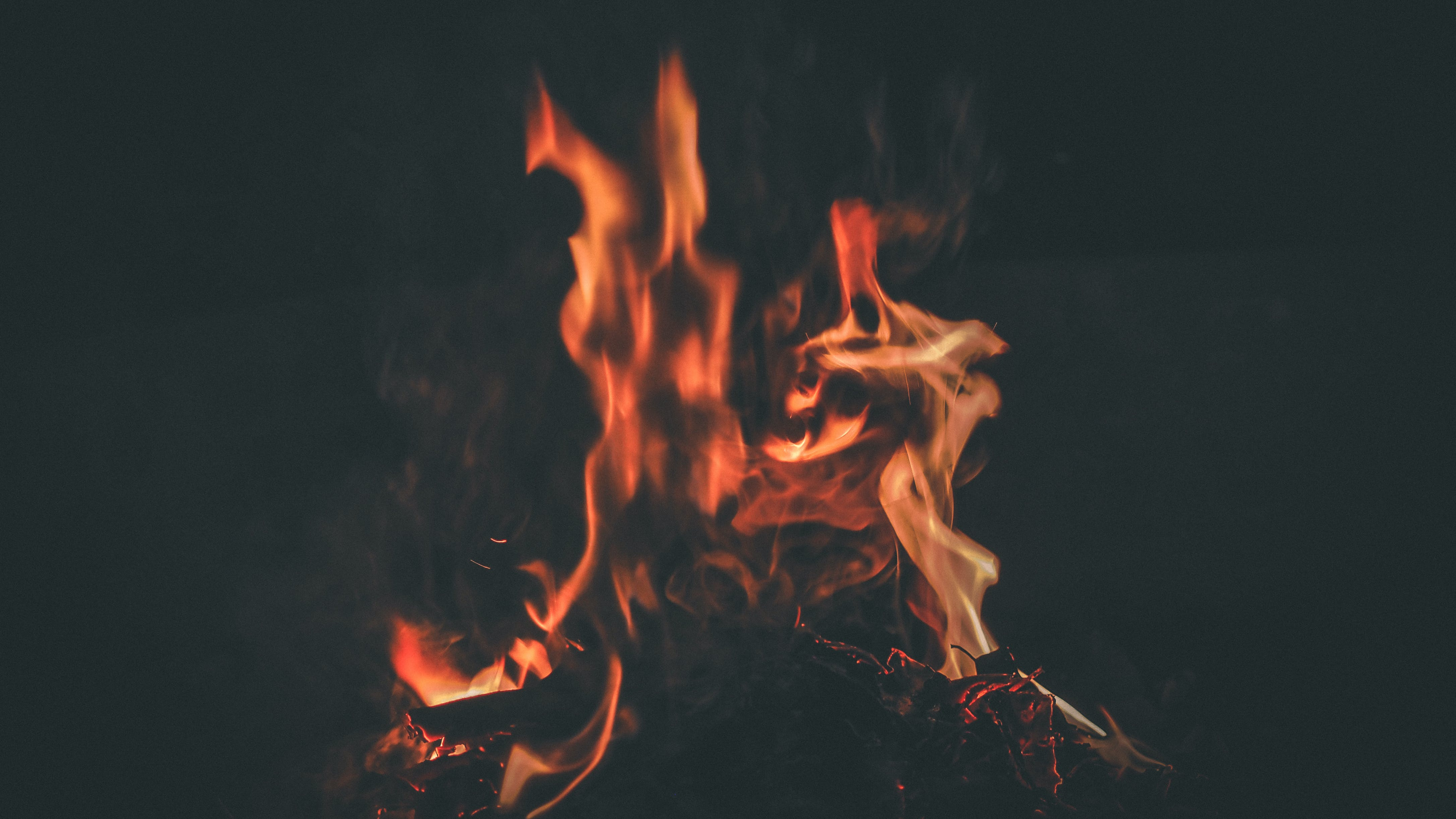 Free stock photo of bonfire, fire, flame, hdbackground
