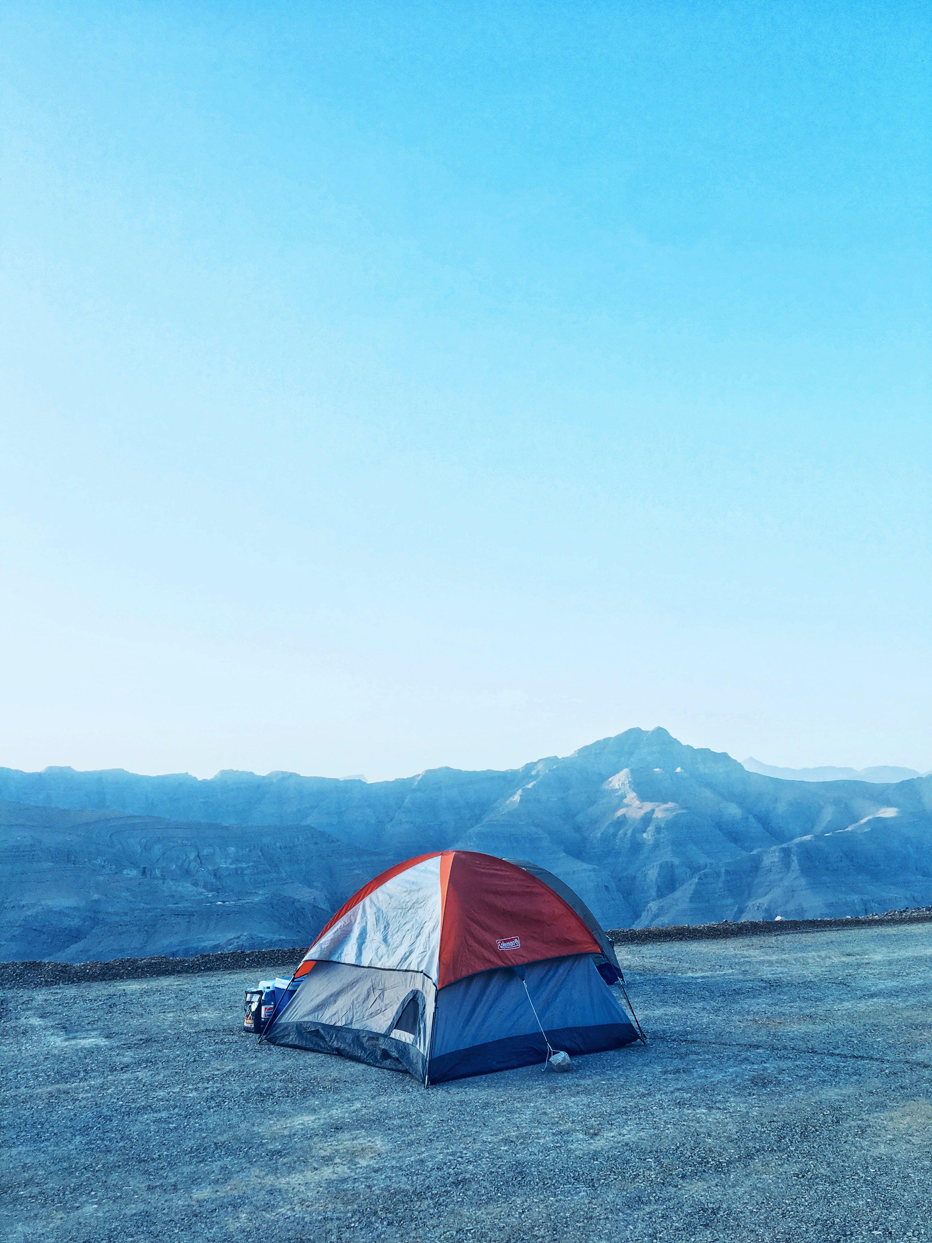 Free stock photo of mountains, travel, dubai, tent
