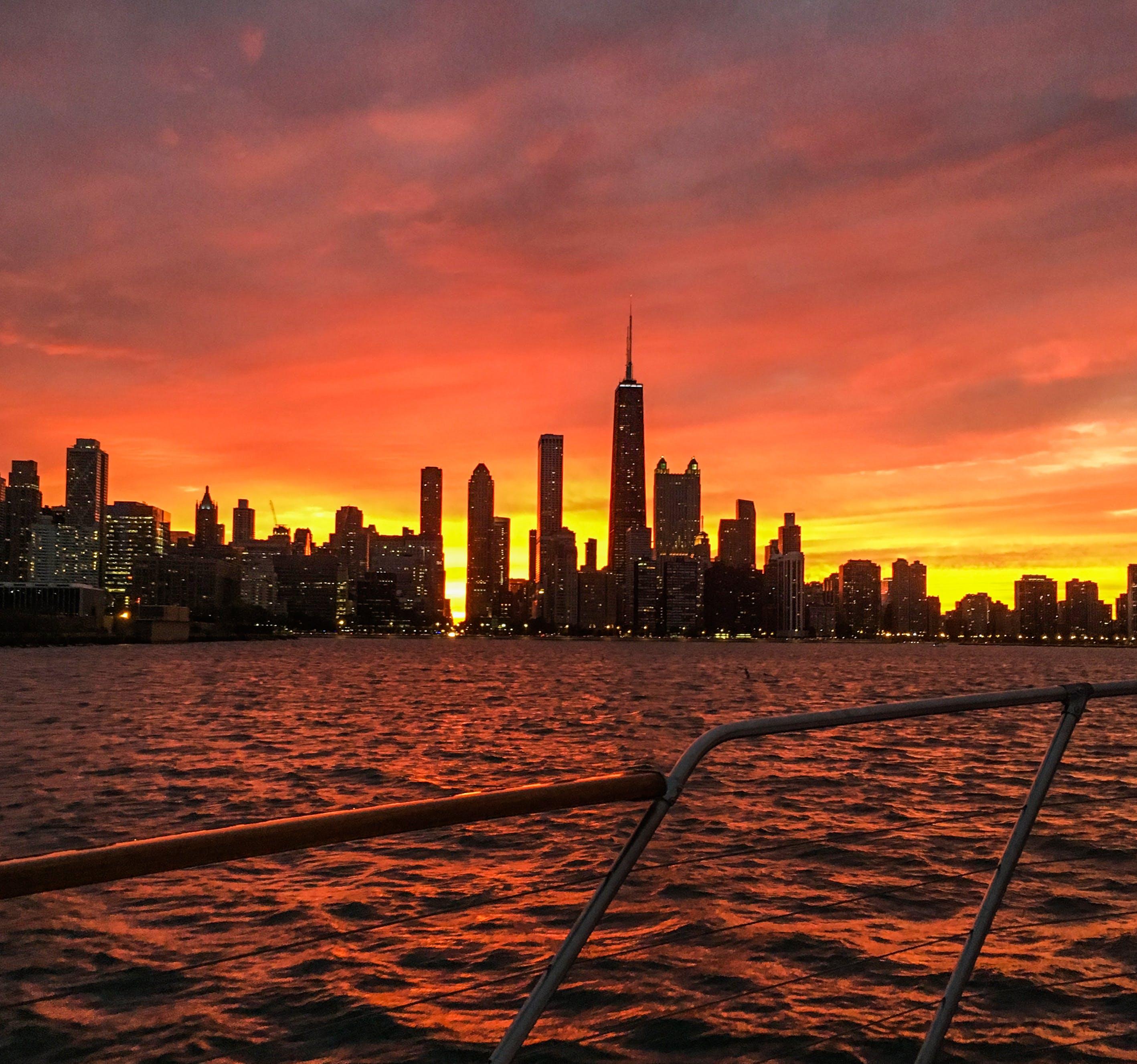 Free stock photo of beautiful, boat, chicago, city