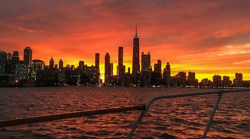 Δωρεάν στοκ φωτογραφιών με il, βάρκα, δύση του ηλίου, ΗΠΑ