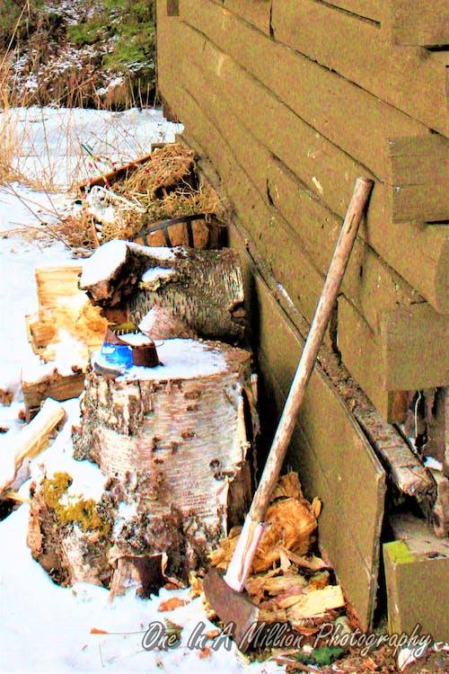 Darmowe zdjęcie z galerii z alaska, kabina, rustykalny, traper