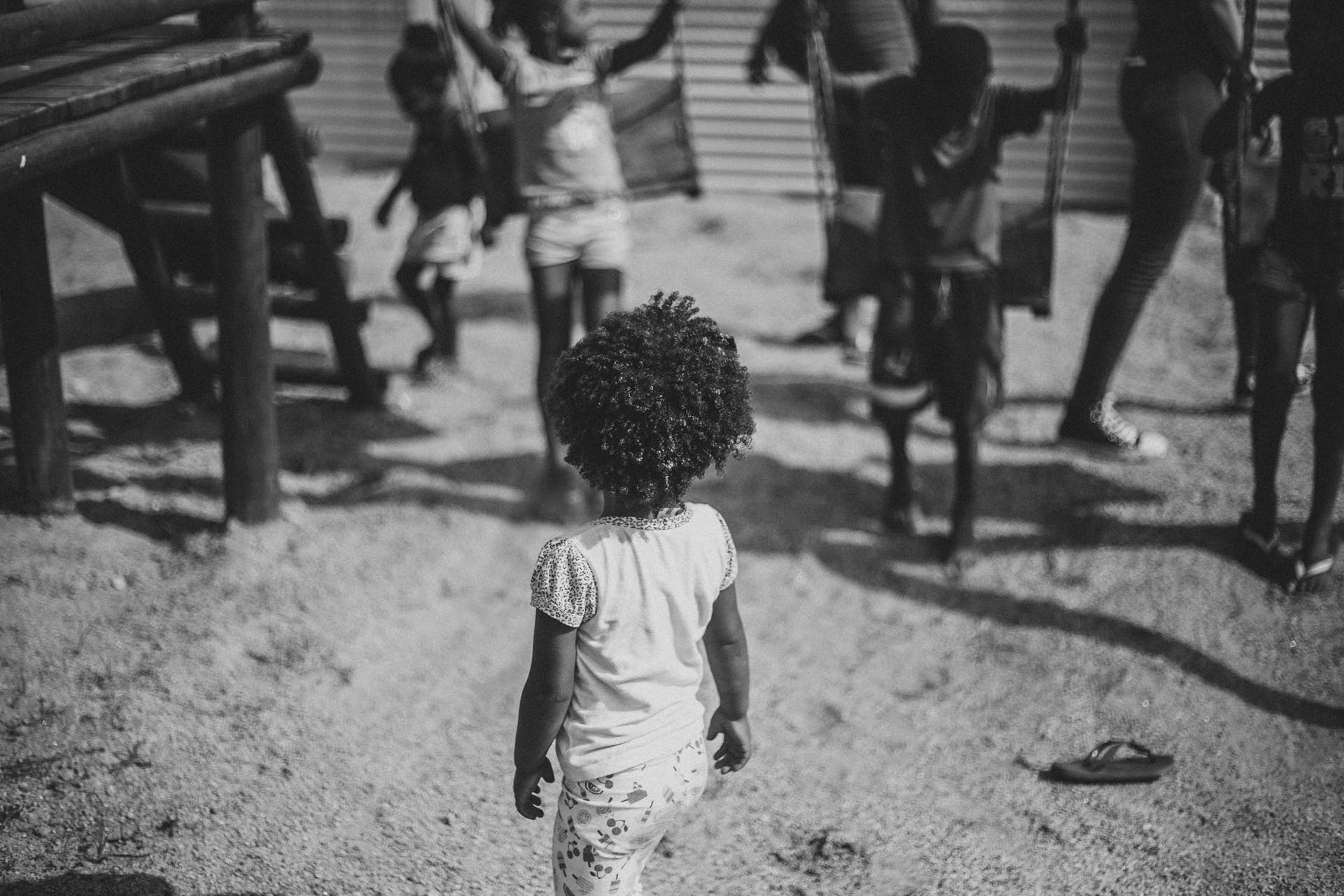 Free stock photo of adoption, affection, afro, b&w