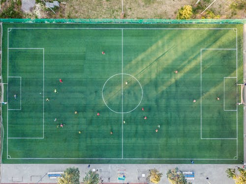 Free stock photo of above, aerial, background, ball