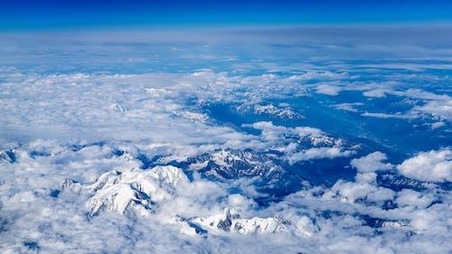 데스크톱 바탕화면, 산 정상, 알프스, 푸른 산의 무료 스톡 사진